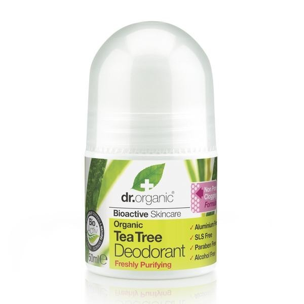 DEODORANT ROLL-ON TEA TREE – ČAJEVEC – neto: 50 ml